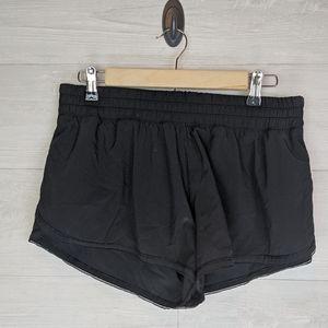 Lululemon Black Tracker Athletic Shorts